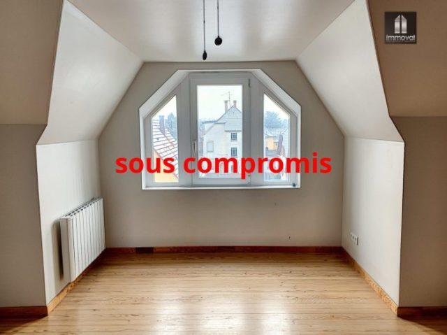 GEISPOLSHEIM,Appartement 3p, combles