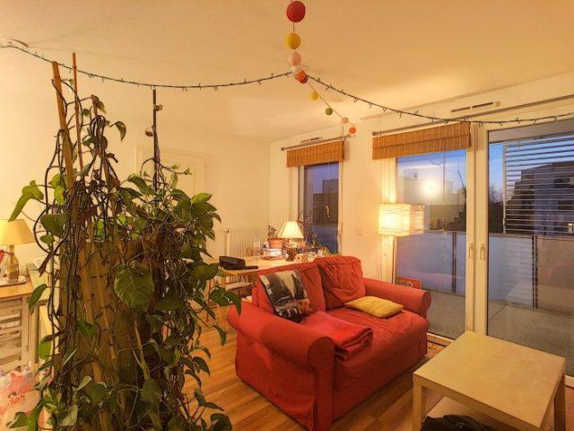 STRASBOURG, Appartement 2 pièces de 44m² vendu loué.