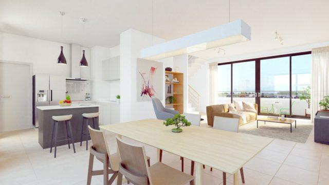 Appartement 3 pièces dans un programme neuf avec terrasse