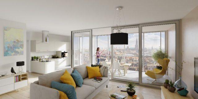 CENTRE VILLE appartement  2 pièces 41.5m²