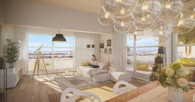 ROBERTSAU Appartement attique 4 pièces de 105m²