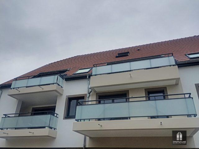 HOLTZHEIM, Appartement 2 pièces de 57.26m²