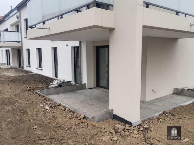 HOLTZHEIM, appartement 4p,82.54m²,jardin138m²
