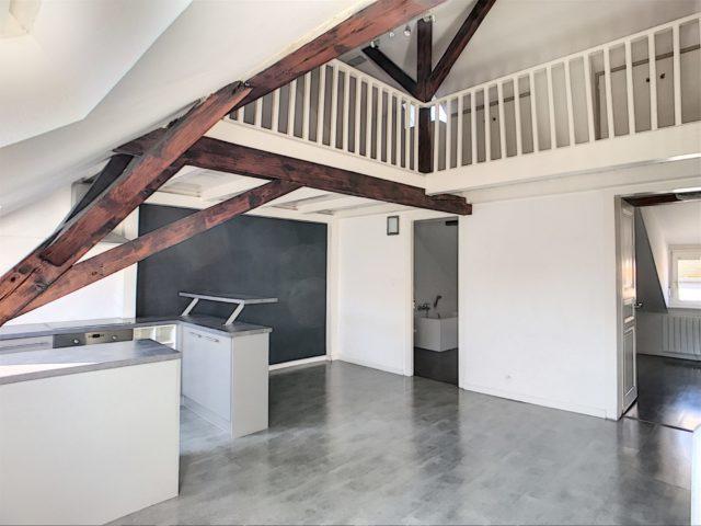 SCHILTIGHEIM CENTRE, Appartement duplex 3 pièces de 61 m²