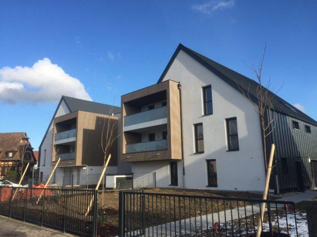 LA WANTZENAU, Appt 3 p de 68 m²+terrasse+garage