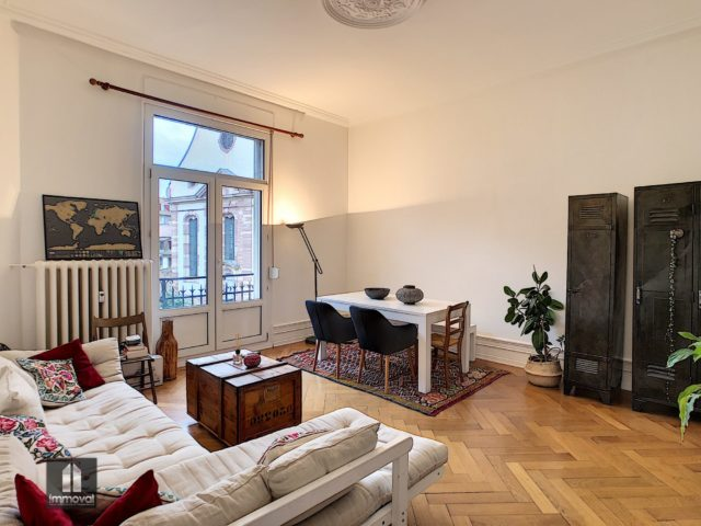 STRASBOURG CENTRE VILLE, appartement 3 pièces de 77m²
