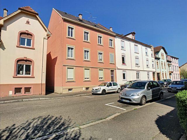 SCHILTIGHEIM, Appartement 3 pièces de 72 m²