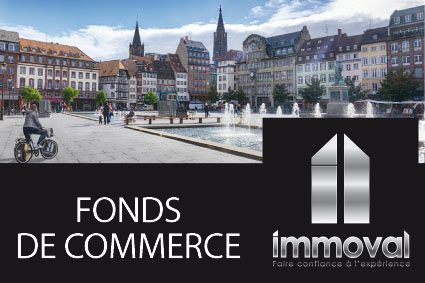 Fonds de commerce à vendre Strasbourg