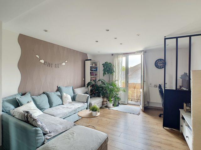 NEUDORF, Appartement 3 pièces de 61m² avec balcon et cave