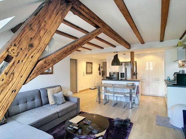 CENTRE VILLE Appartement 3 Pièces meublé de 58.80m²