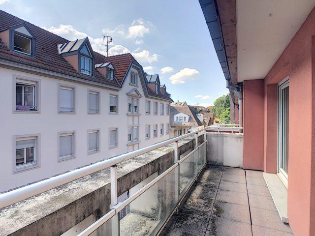 KRUTENAU Appartement 3 Pièces duplex de 60.63m² avec terrasse