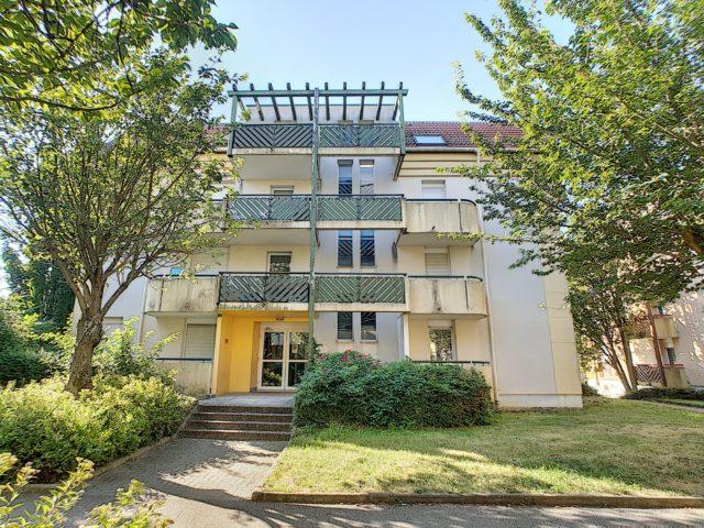 STRASBOURG POTERIES, Appartement 2 pièces au 3ème étage avec