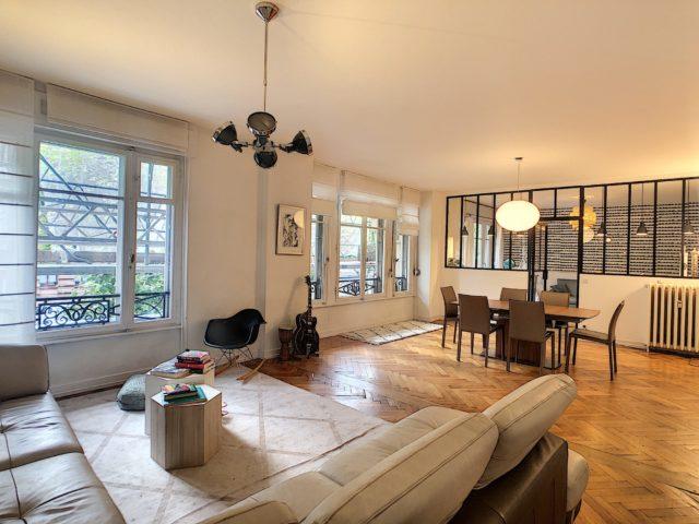 CONTADES, Appartement 5-6 pièces de 150 m²