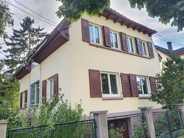 MONTAGNE VERTE, Appartement 4 pièces au 1er étage avec jardin