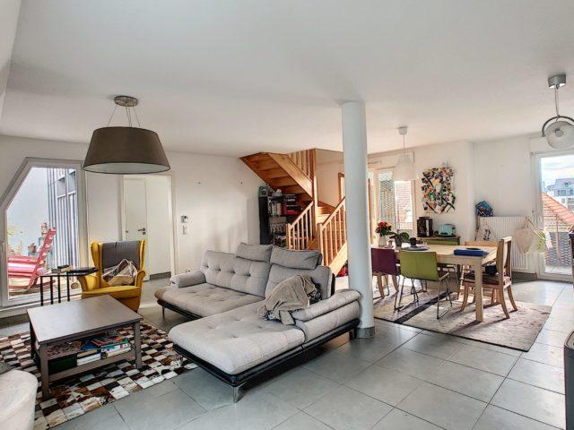 STRASBOURG GARE Appartement Duplex 4 Pièces 86m2
