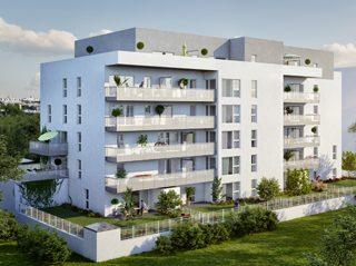 STRASBOURG MEINAU, Appartement 2 pièces de 41.86m²