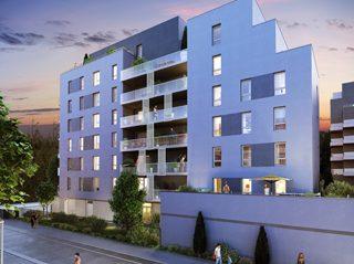 LINGOLSHEIM, Appartement 2 pièces de 48.66m²