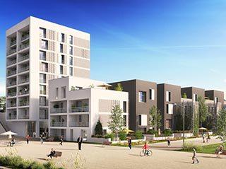STRASBOURG ECO QUARTIER DANUBE Appartement 4 pièces 84.70 m²