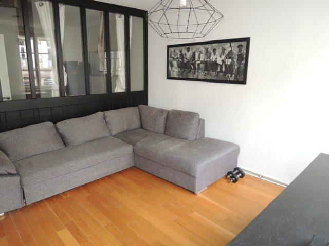 QUARTIER TRIBUNAL - 3/4P  meublé de 58.87m²