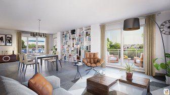 SCHILTIGHEIM Appartement 4 pièces 77,86 m2