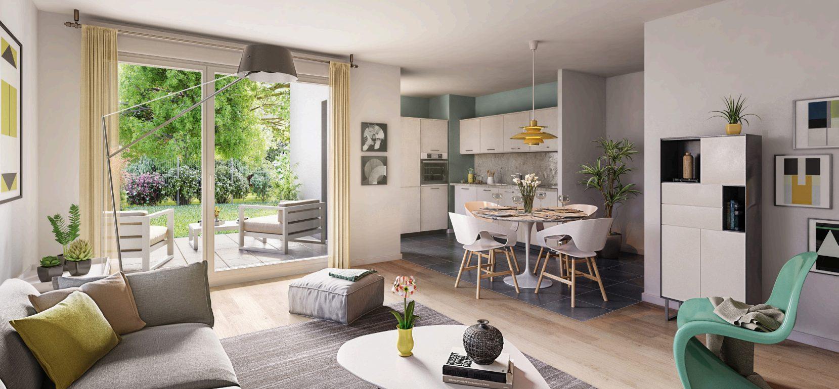 SCHILTIGHEIM Appartement 2 pièces 40,50 m2