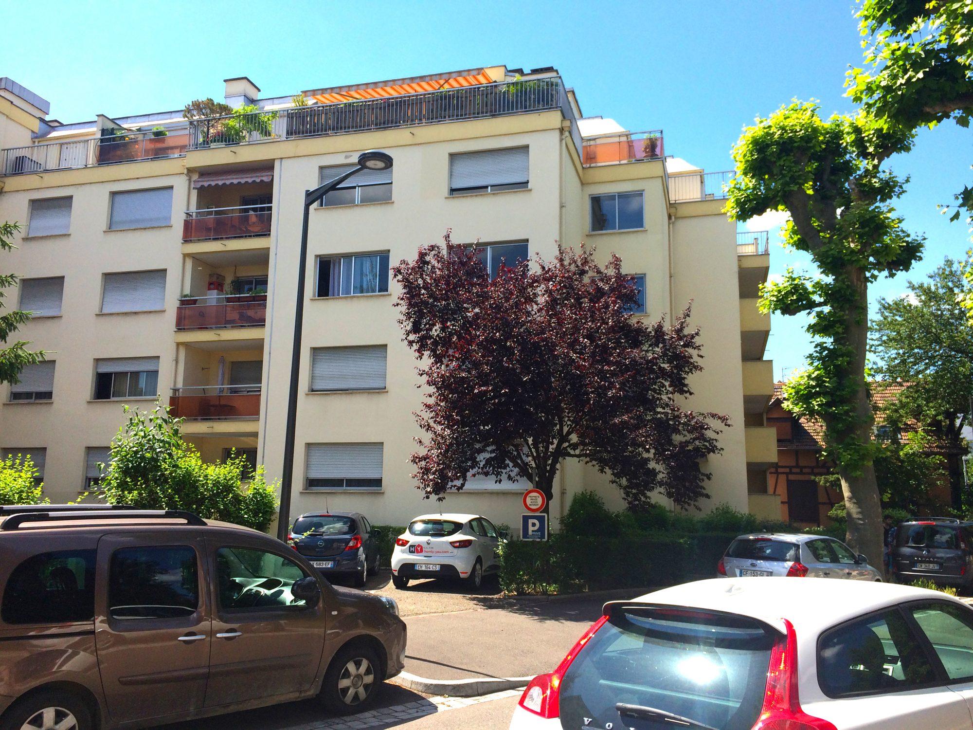 NEUDORF Appartement 2 Pièces de 57.52m² avec balcon