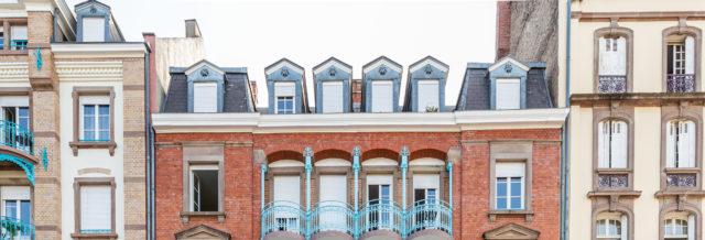 façade d'un immeuble géré par un syndic