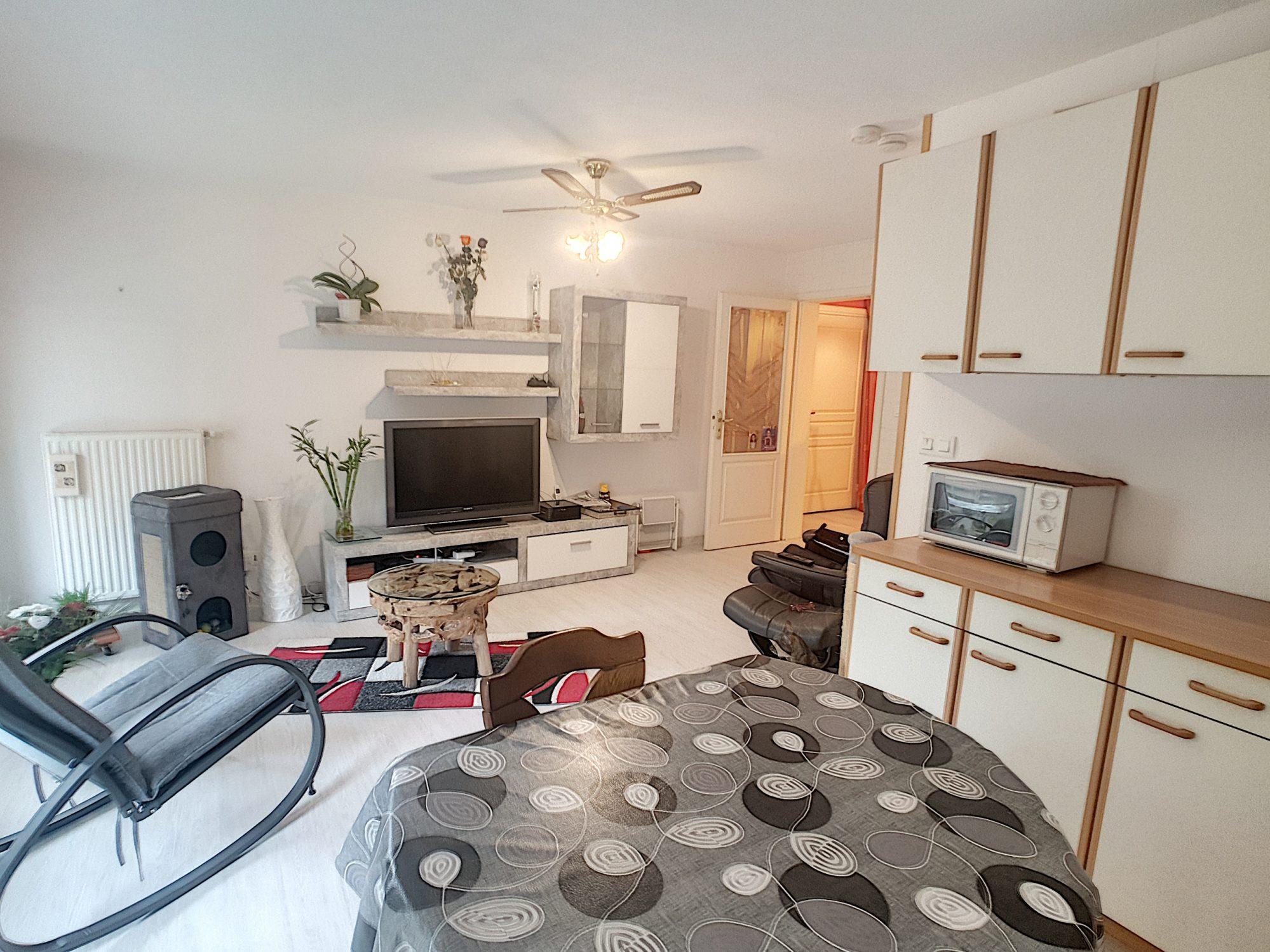 Gerstheim, appartement 3 pièces de 60.90 m² au rdc surélevé
