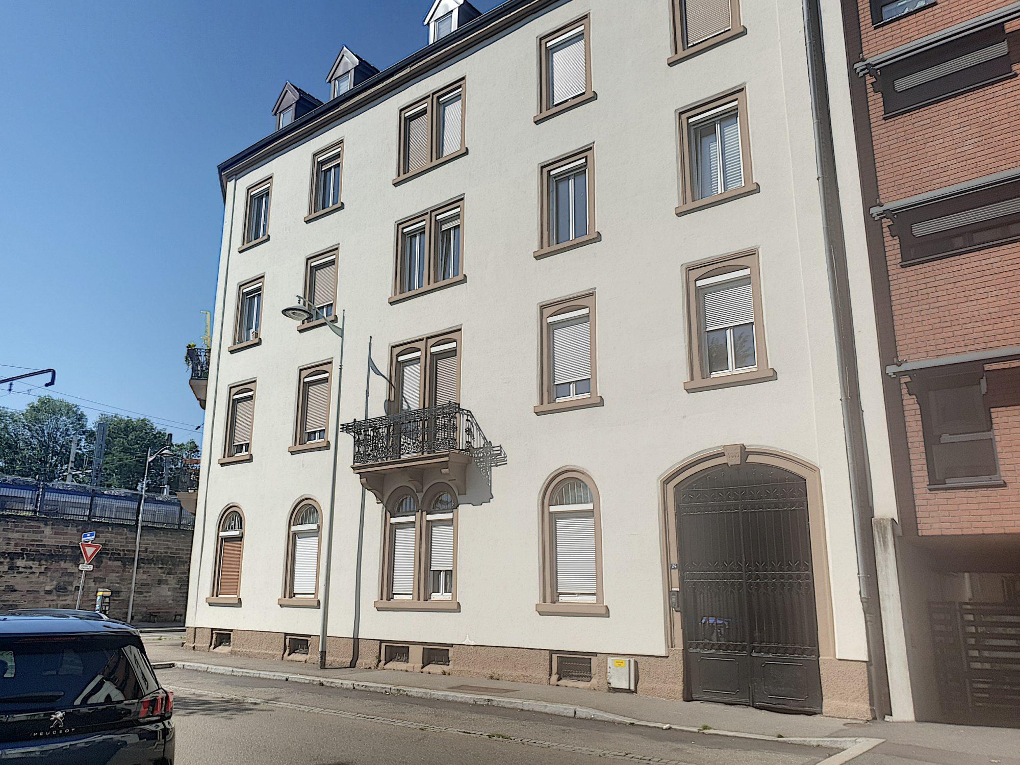 Strasbourg Gare appartement 3 pièces de 71 m² au 2ème étage