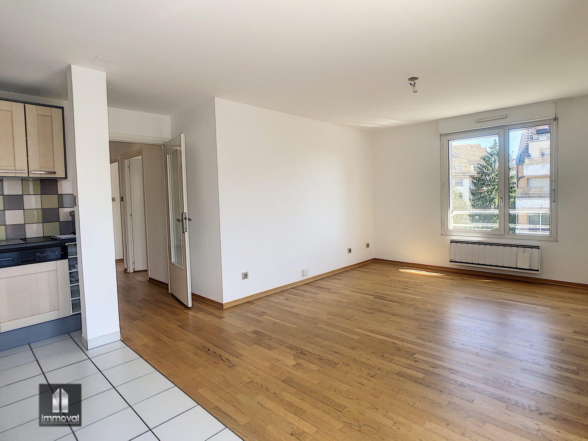 LINGOLSHEIM, Appartement 3 pièces 61,41m²