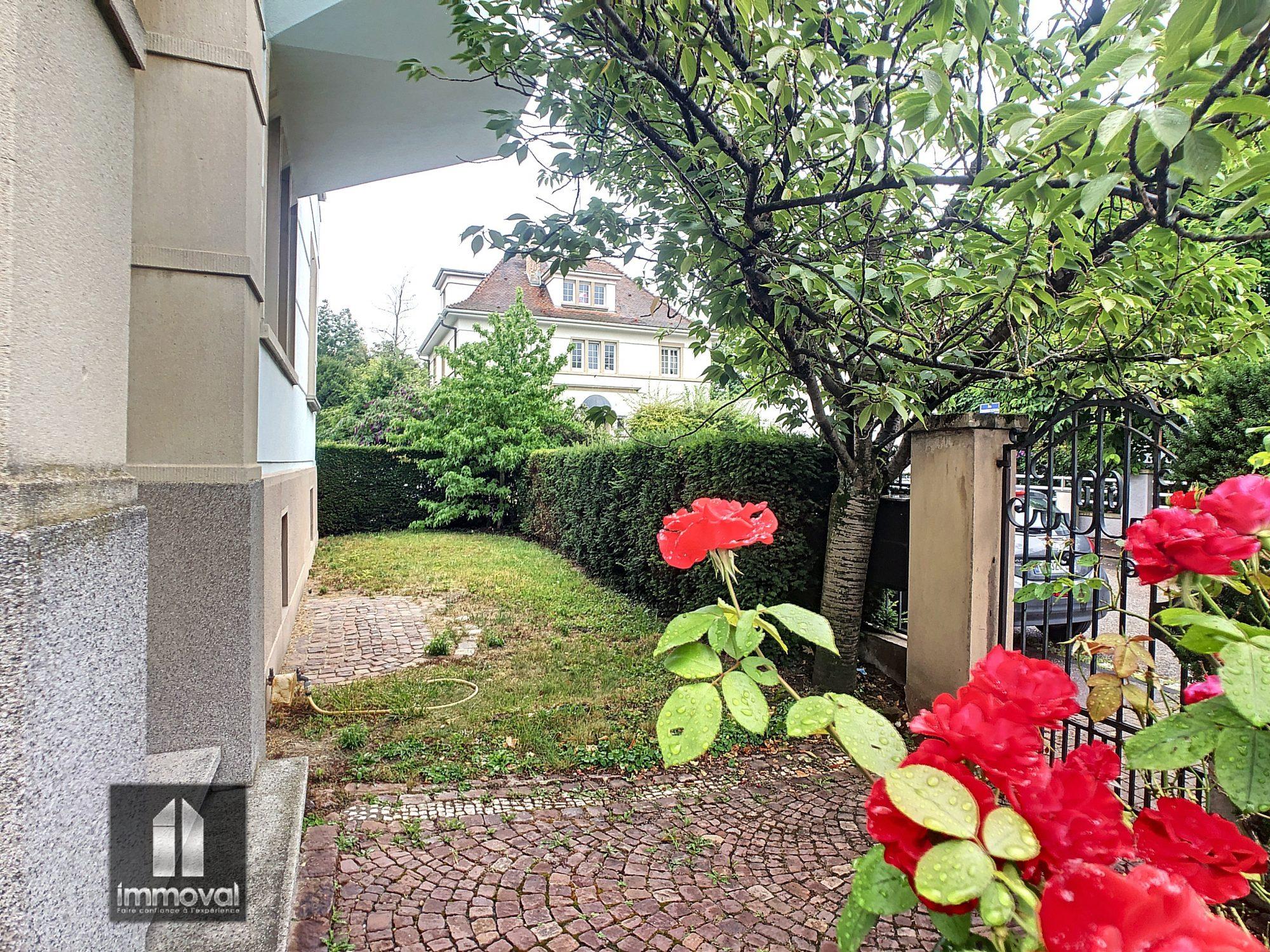 STRASBOURG TIVOLI Appartement + Studio 4/5 pièces 150,88m2