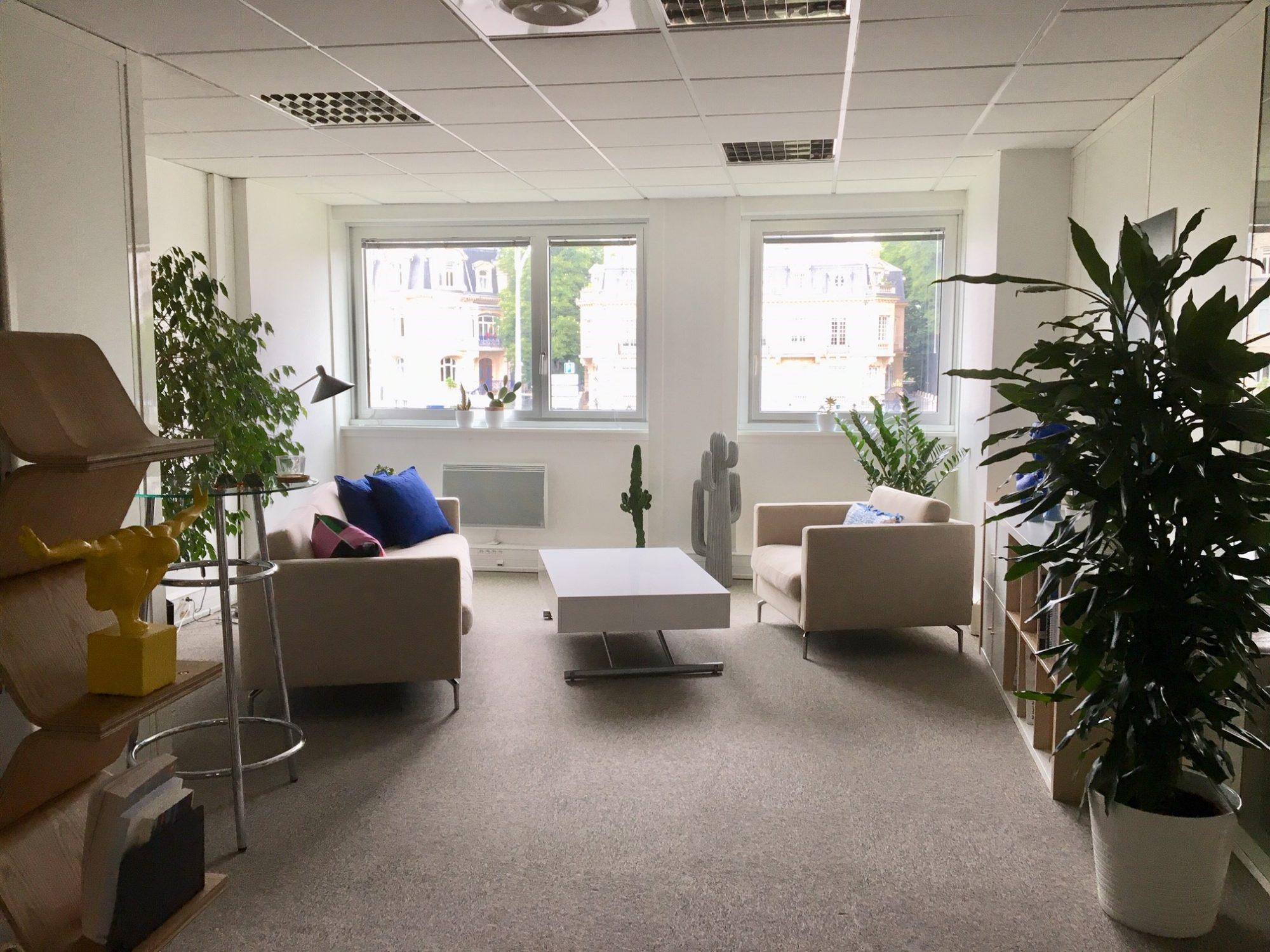 Lumineux bureaux modernes Place Brant