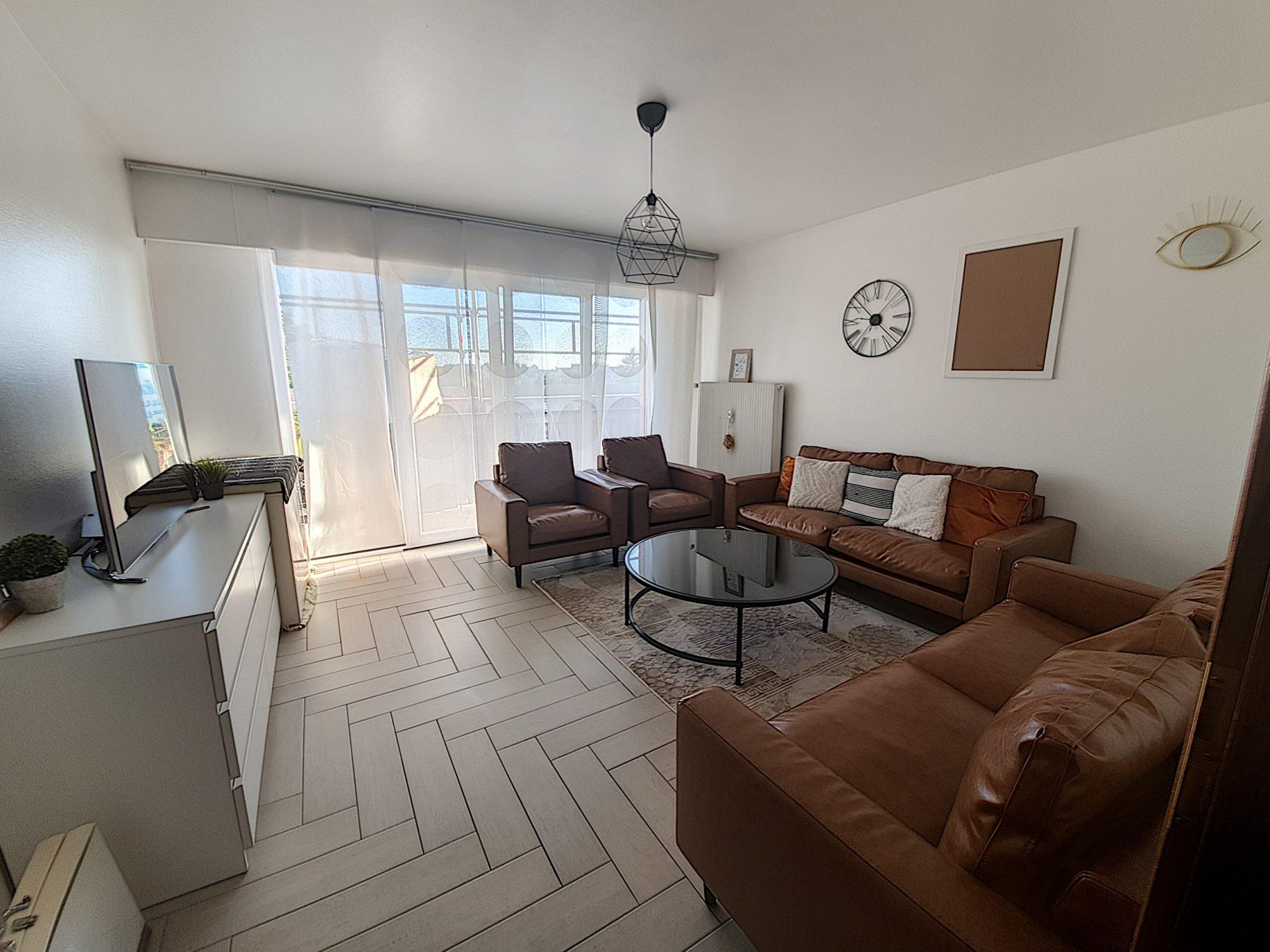 KOENIGHSOFFEN Appartement 3 pièces avec terrasse et cave