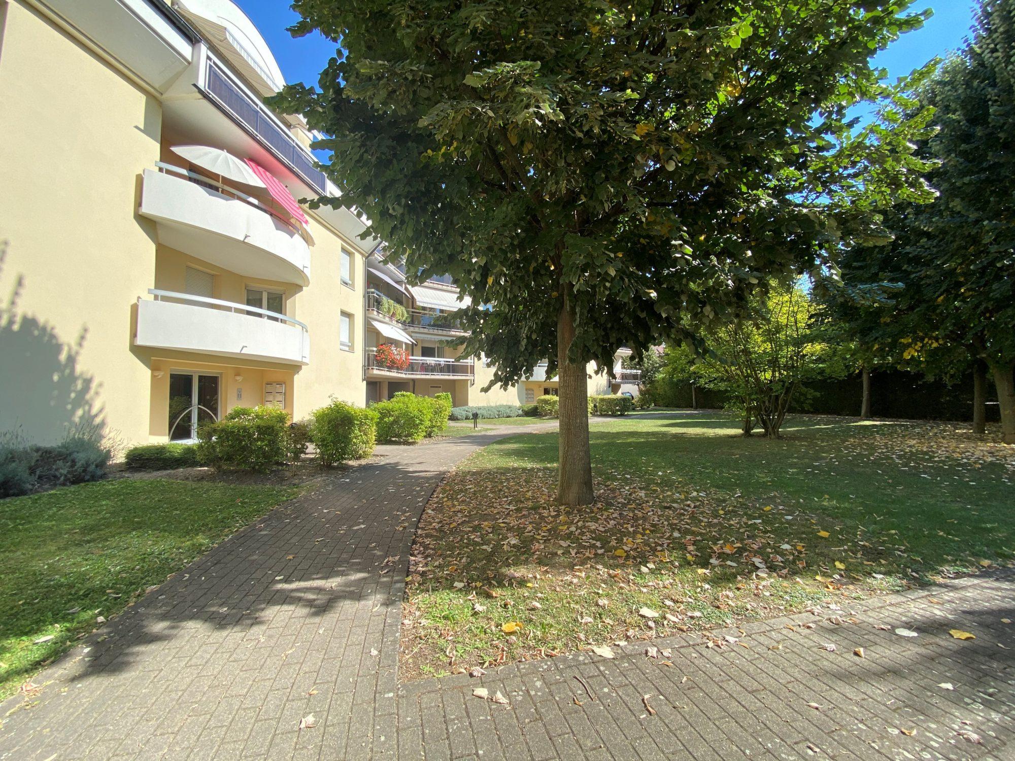 ILLKIRCH, 3 pièces de 85m² avec 2 parkings