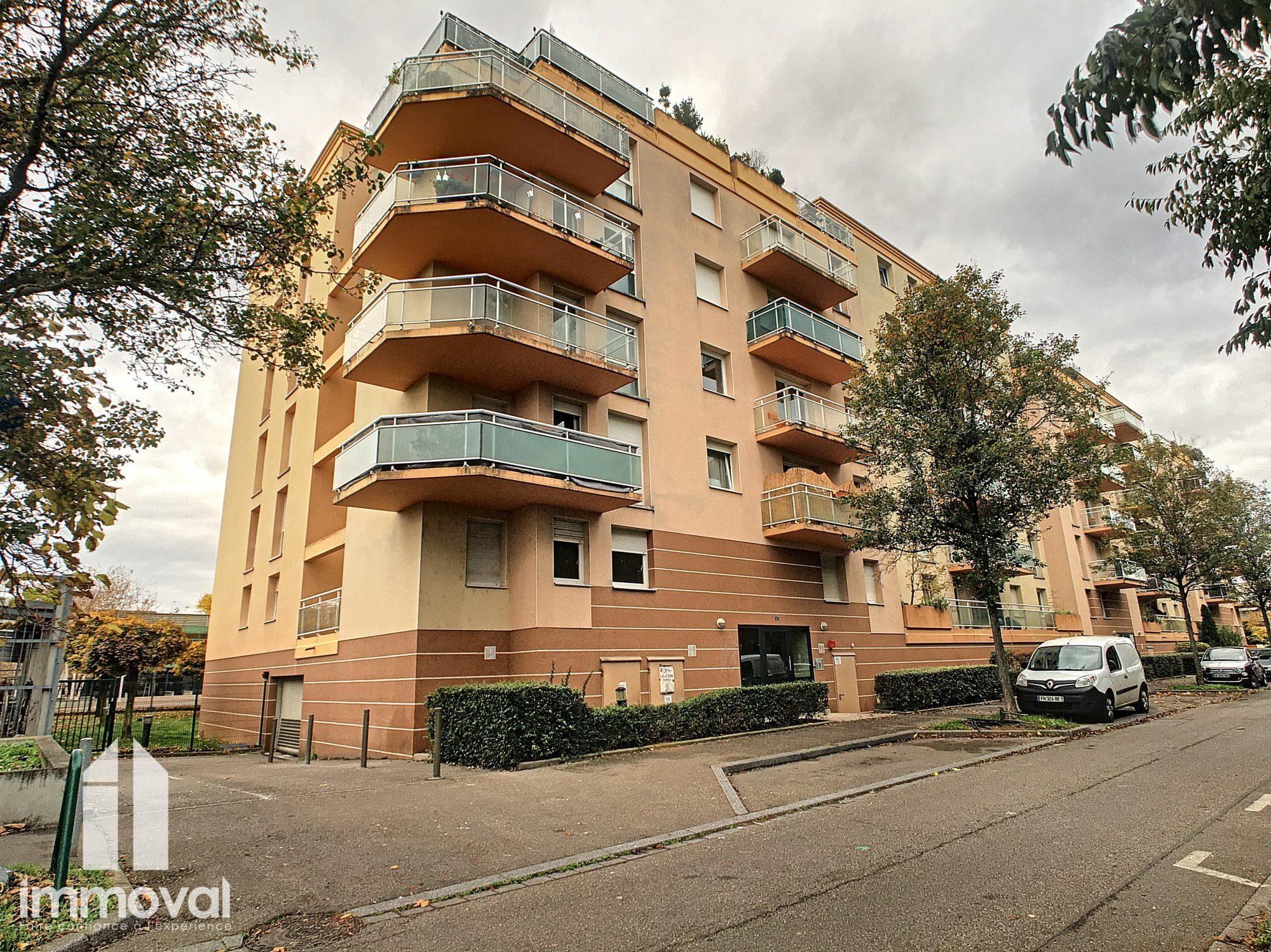 STRASBOURG Poteries Appartement 2 pièces de 46m2