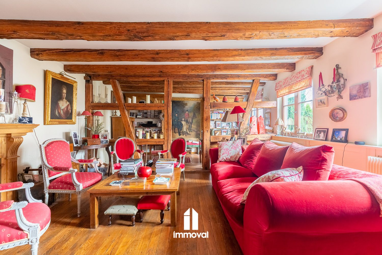 Boersch/Obernai maison alsacienne et annexe sur 12 ares