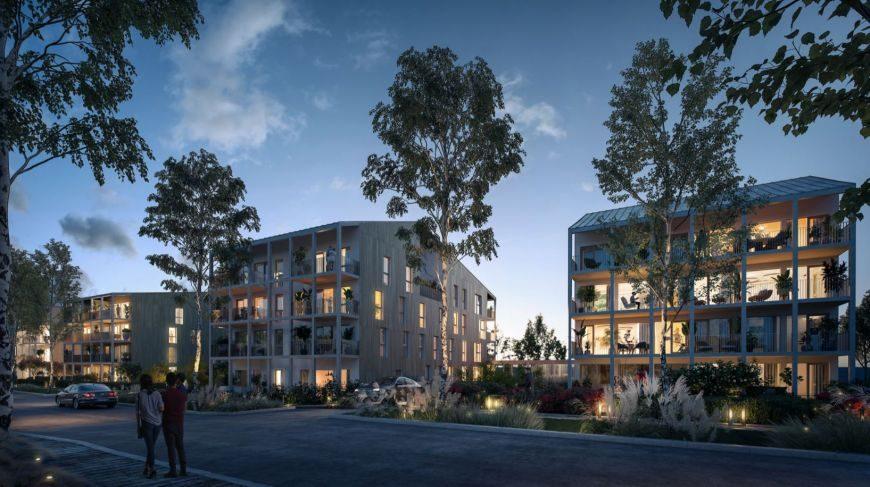 REICHSTETT Appartement 3 pièces de 63m2