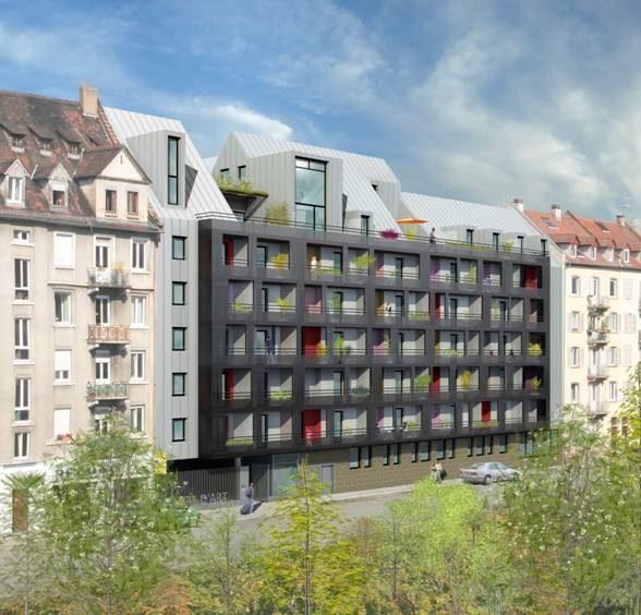 CENTRE - 2 pièces récent avec balcon