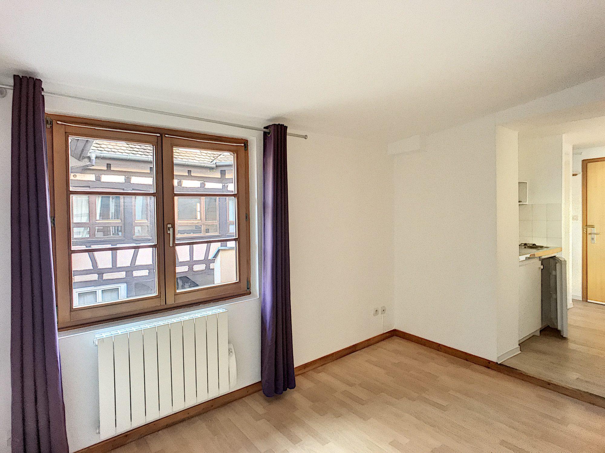 KRUTENAU Appartement 1 pièce de 18.87 m2