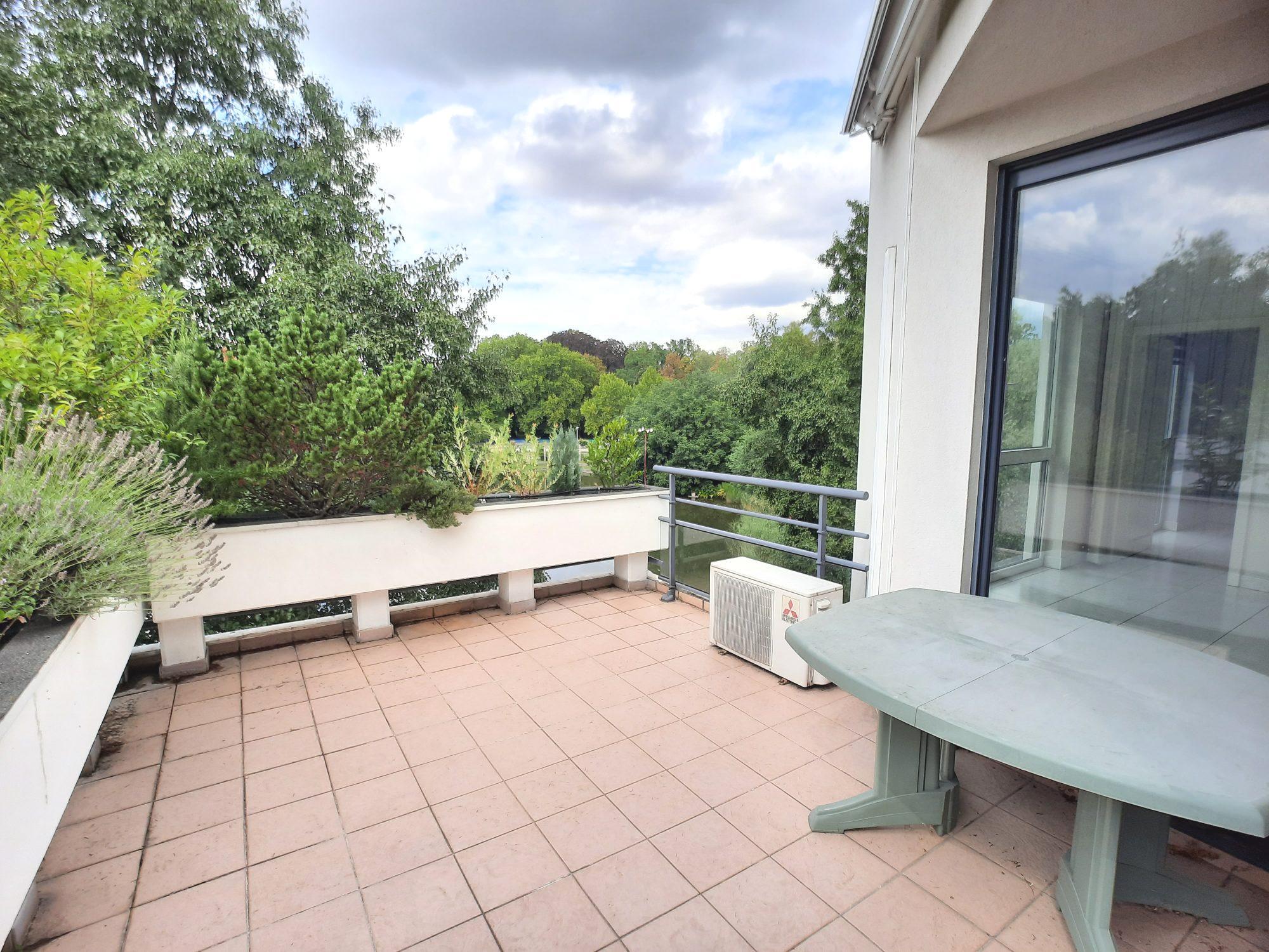 ORANGERIE - 4/5 pces de 126,30m² 2 terrasses