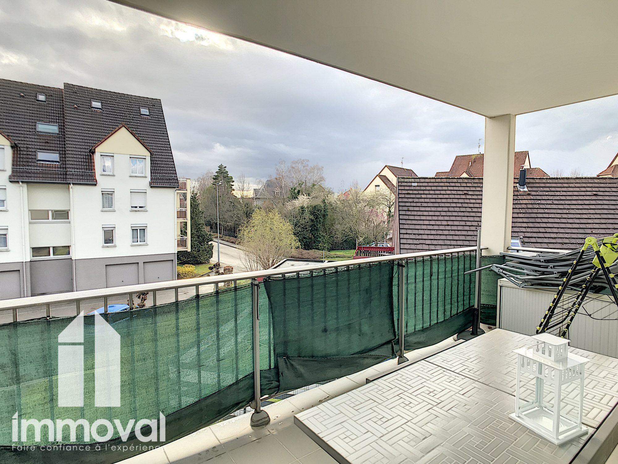F4 de 88m2 Oberhausbergen+ garage+parking