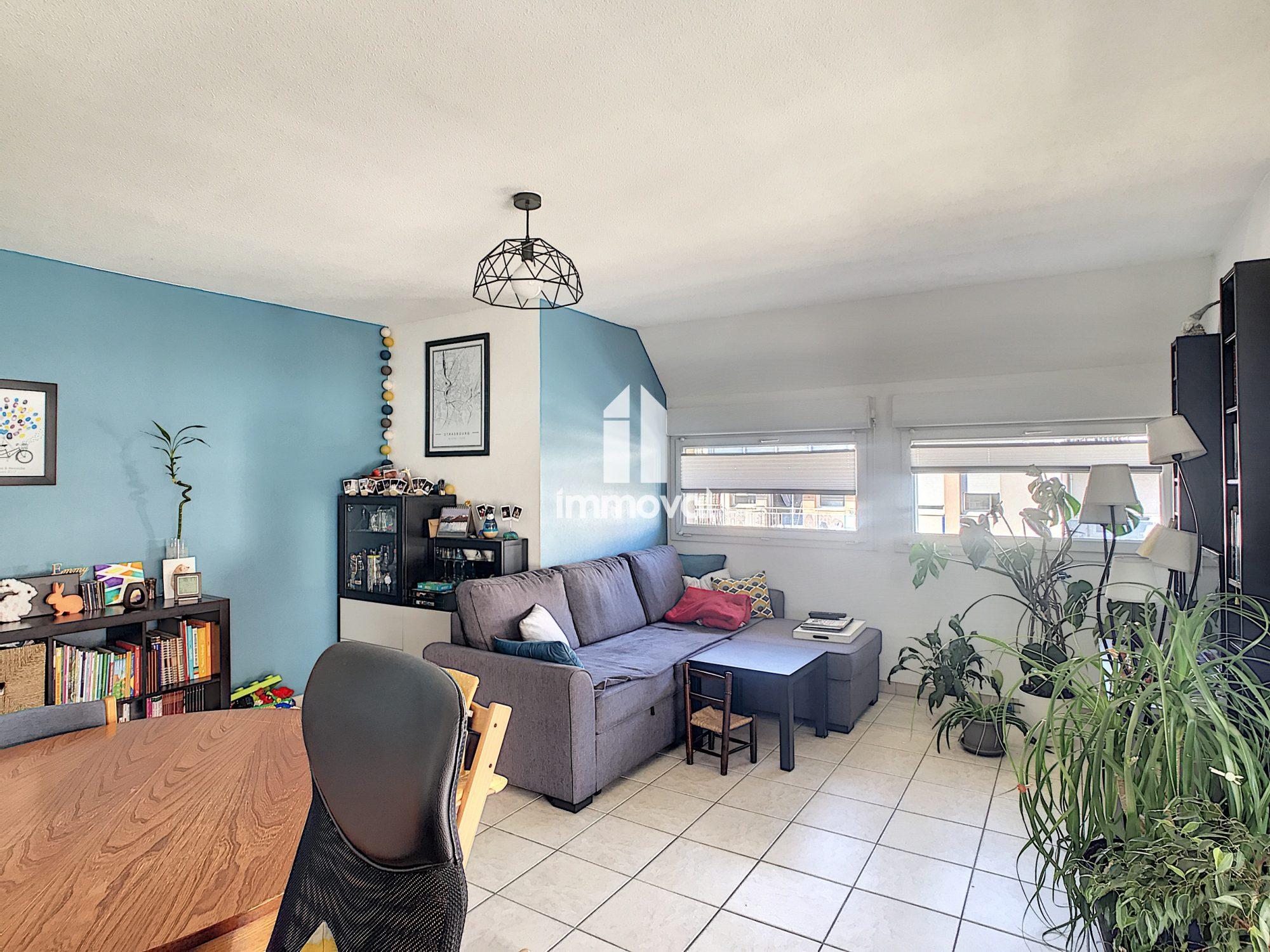 SCHILTIGHEIM - Appartement 3 pièces de 67m2