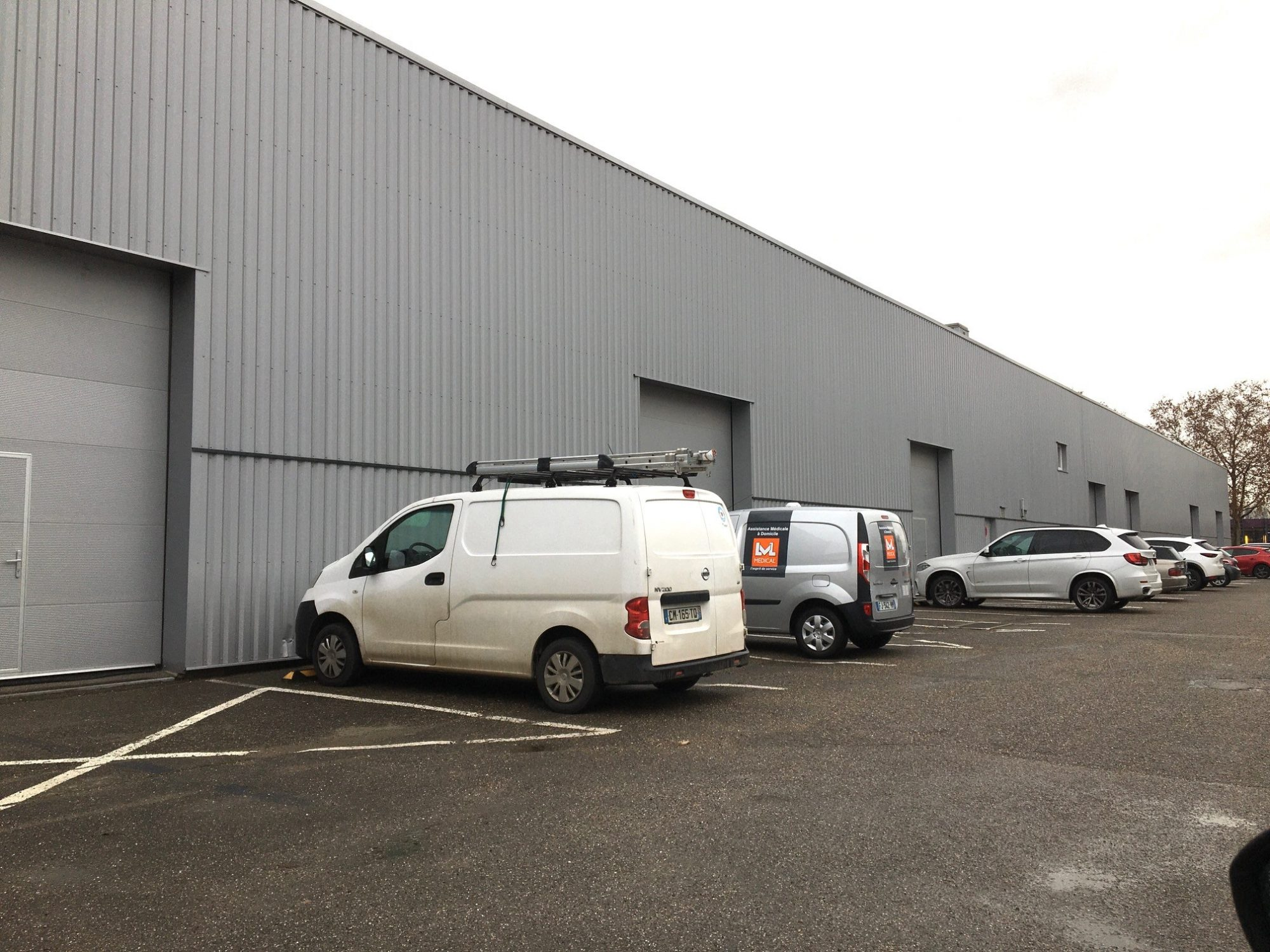 Hall/Entrepôt 795 m² disponible à la location à Bischheim/Ho