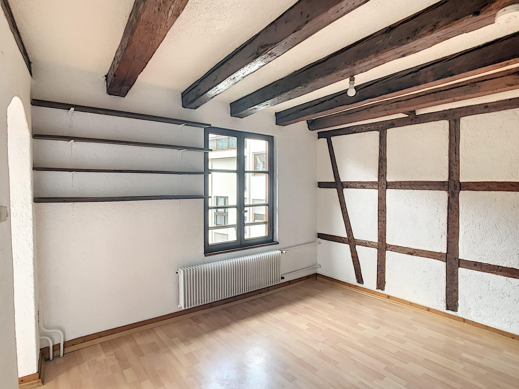 PETITE FRANCE -  Appartement F1 BIS de 24,12M²