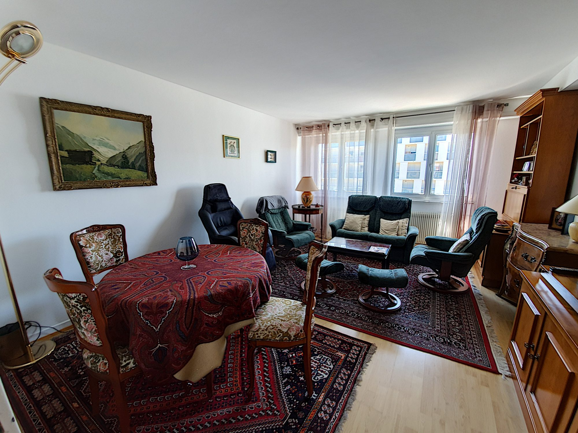Meinau, appartement 3 pièces de 73 m² avec parking et cave