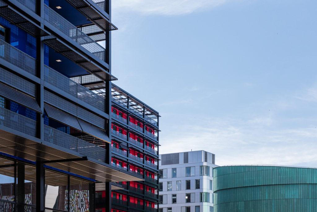 La Presqu'île Malraux à Strasbourg avec Rivetoile et le cinéma UGC