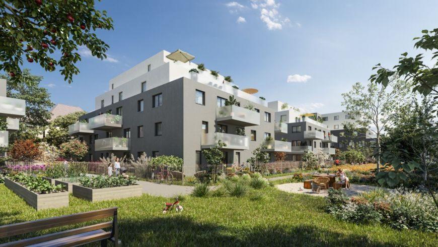 BISCHHEIM  Appartement neuf 5 pièces 99,49m2