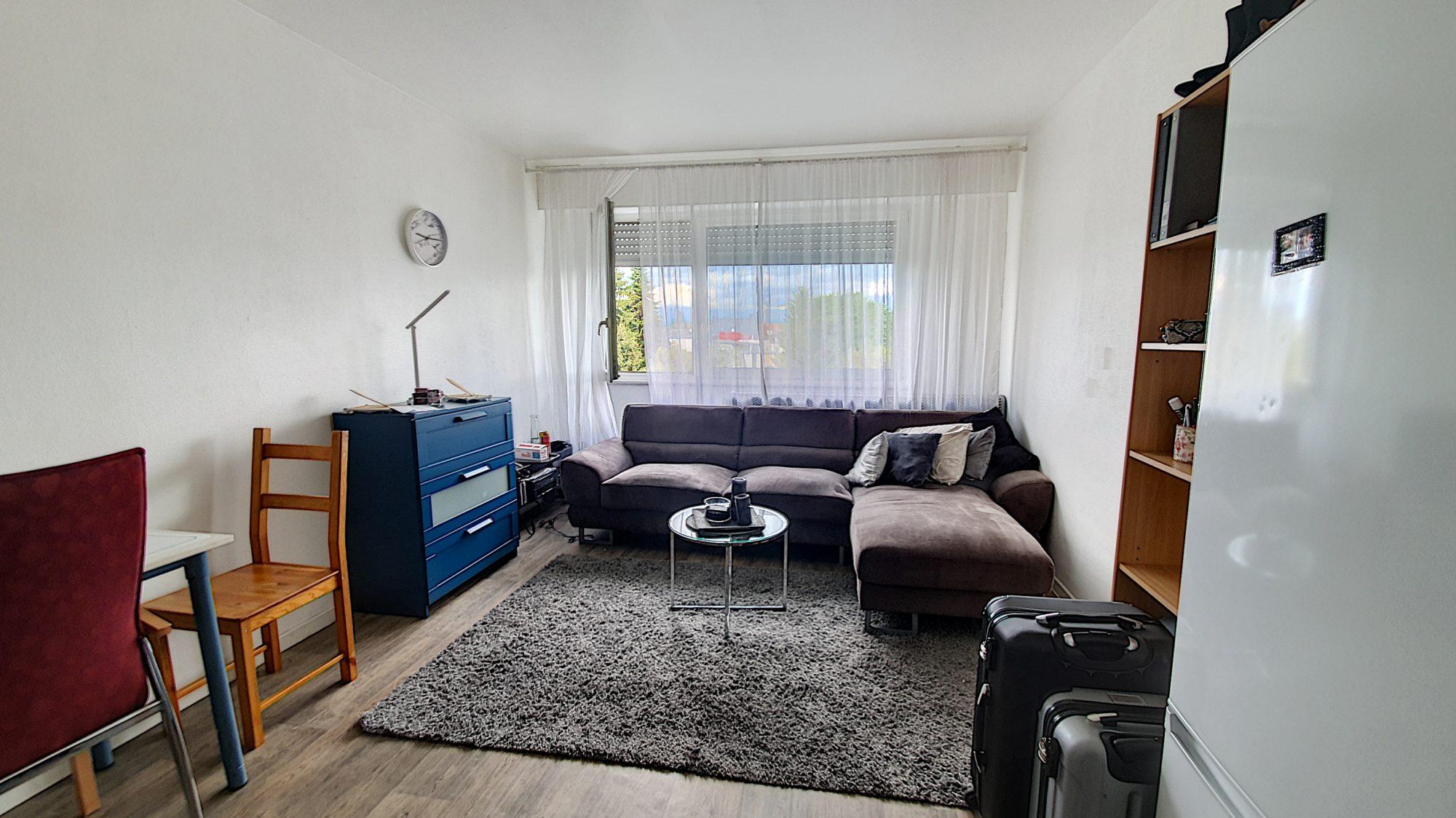Neudorf , studio de 27 m² vendu loué
