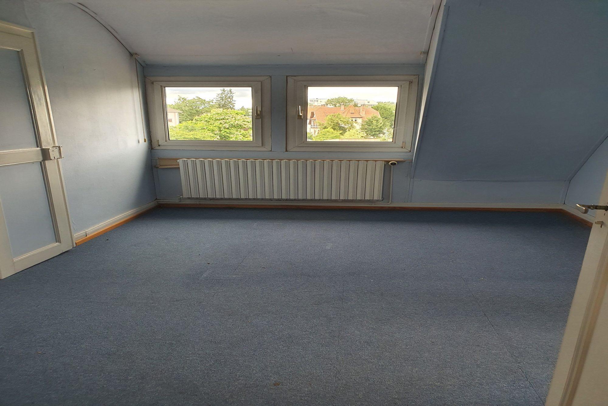 Illkirch appartement 3/4 pièces de 62 m² hab/ et 125m² au sol