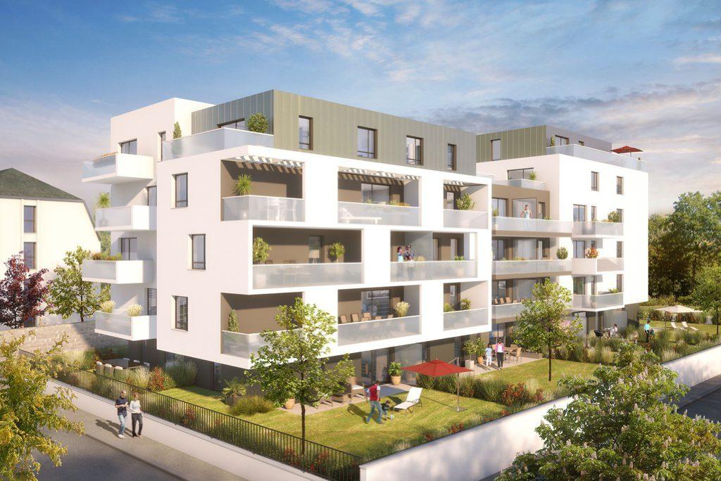 Appartement neuf T2 Illkirch - Résidence AZUR & O